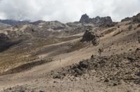 High altitude biking, Mt. Kenya