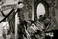 Detail of Carousel Horses