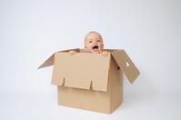 Child & box