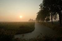 Sunrise in the Polder