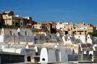 Jewish cemetery at Fez.