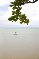 Small Fishing Boat in Tropical Beach (Brazil)