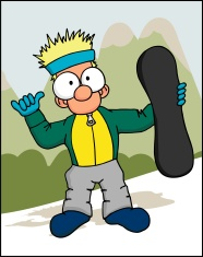 Snowboard Dude 1