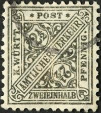very old German stamp