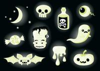 Glow In The Dark Halloween Elements