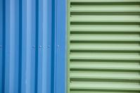 Corrugated Metal Industrial Warehouse