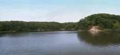 Hooks Creek Lake Panorama