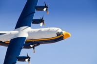 C-130 Hurcules Transport In Flight