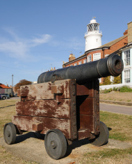 Southwold Cannon and Lighthouse