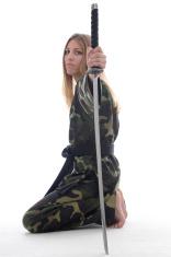 Combat sword