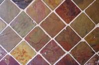 Slate tiles texture