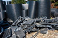 Plastic pipes junk