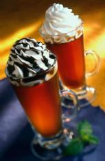 Coffee desert drink