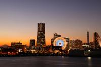 Yokohama Twilight scenery