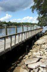 Dock On Florida Waterway