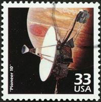 Jupiter space probe, Pioneer 10 in orbit