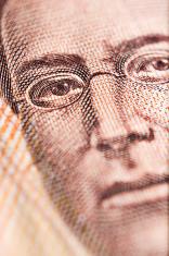 Mexican 500 Peso Bill