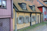 Old 17th century houses