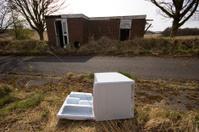 Abandoned refridgerator