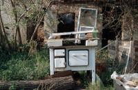Ancient oven in the garden