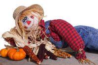 Scarecrow Protecting the Harvest