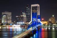 Jacksonville Cityscape at Night