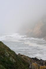 Ocean fog.