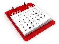 March 2010 - Calendar series