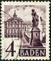 Baden courtyard
