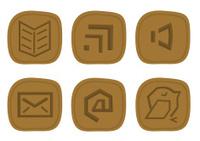 Set of info runes