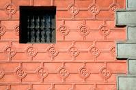 Window in Red Wall
