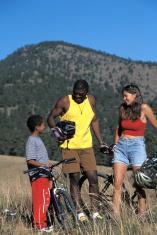 Healthy Modern Family Biking
