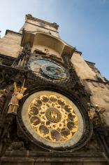 Town Hall and Astronomical Clock, Prague.