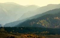 Ridges of Rodopi mountains