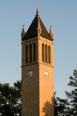 Tower clock, Ames, Iowa