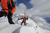 extreme skiing tour