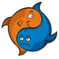 Yin Yang Fish Stock Vector Freeimages Com