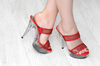 high heels platform