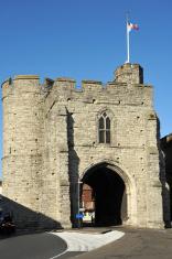 Westgate Tower in Canterbury, Kent, UK