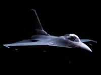 Aircraft F-16 USAF Model