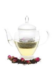 Green Tea with Rosebuds
