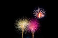Colorful Holiday Celebration Fireworks