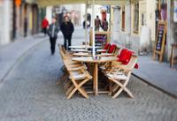 Morning walk in Ljubljana,Slovenia