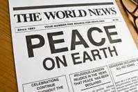 Peace On Earth Headline.