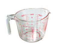 Measuring mug isolated