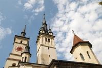 Saint Nicholas Church towers Brasov