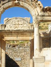 Ruins at Ephesus, Turkey