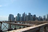 Manhattan from the Brooklyn bridge