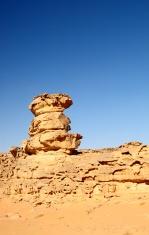 landscape in Wadi Rum