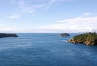 Strait of Juan de Fuca at Deception Pass